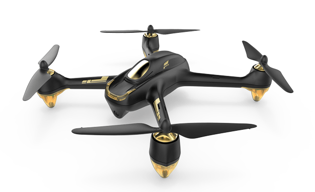 Мощный квадрокоптер Hubsan H501S X4 Brushless FPV High Edition черного цвета